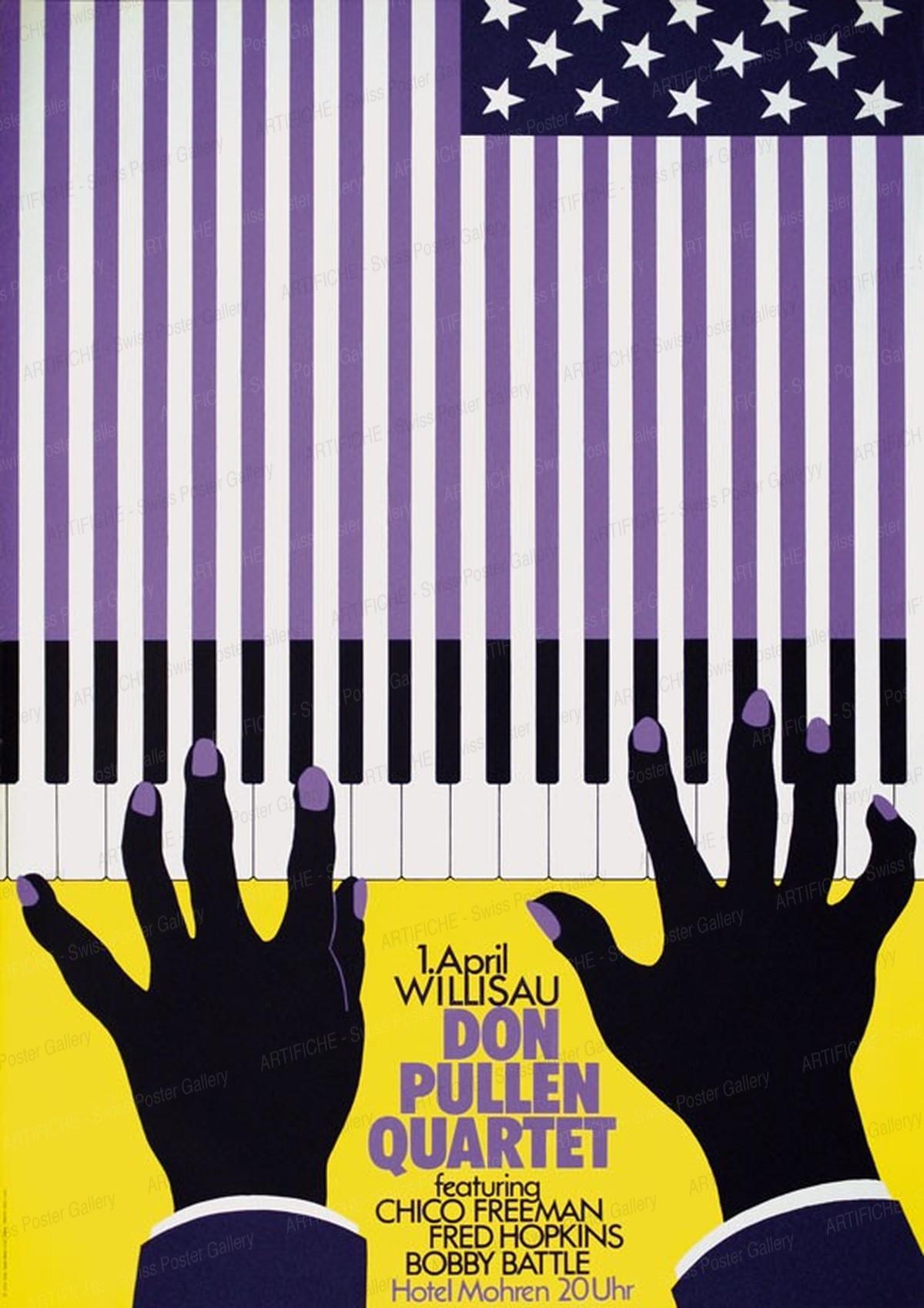 Jazz Willisau – Don Pullen Quartet, Niklaus Troxler