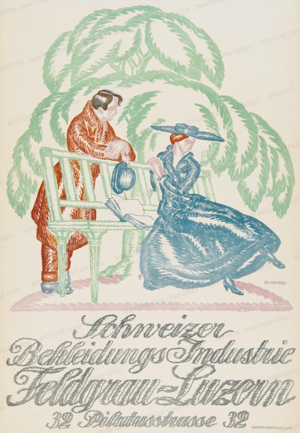 Swiss Clothing Industry Feldgrau Lucerne, Eduard Renggli
