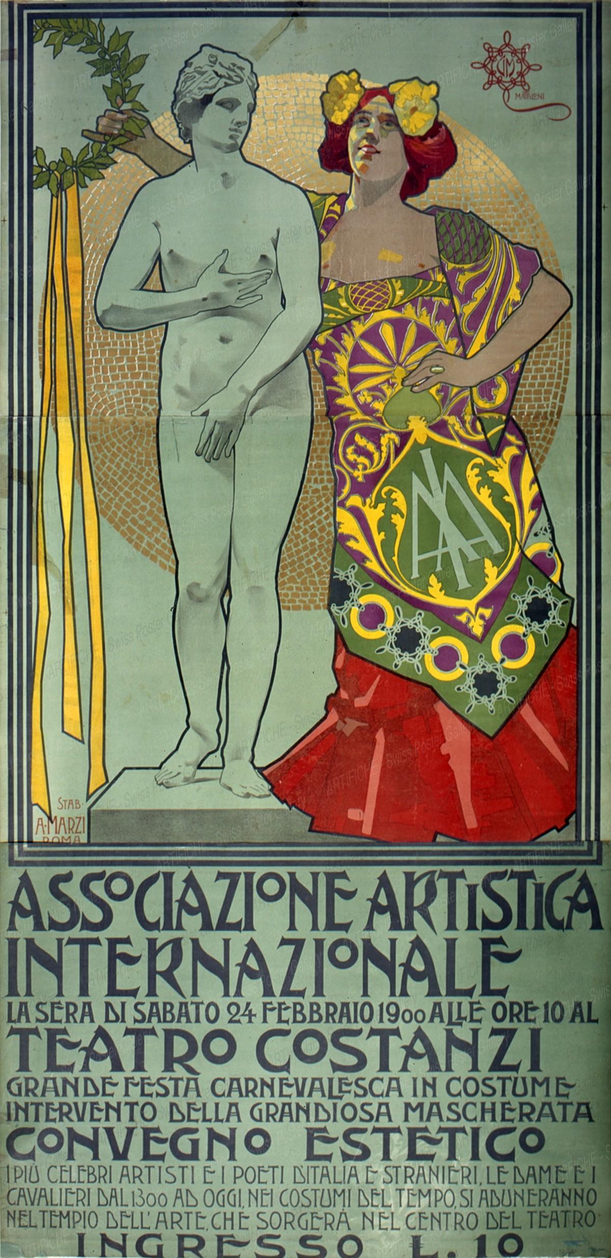 Teatro Costanzi Associazione Artistica internazionale, Mataloni