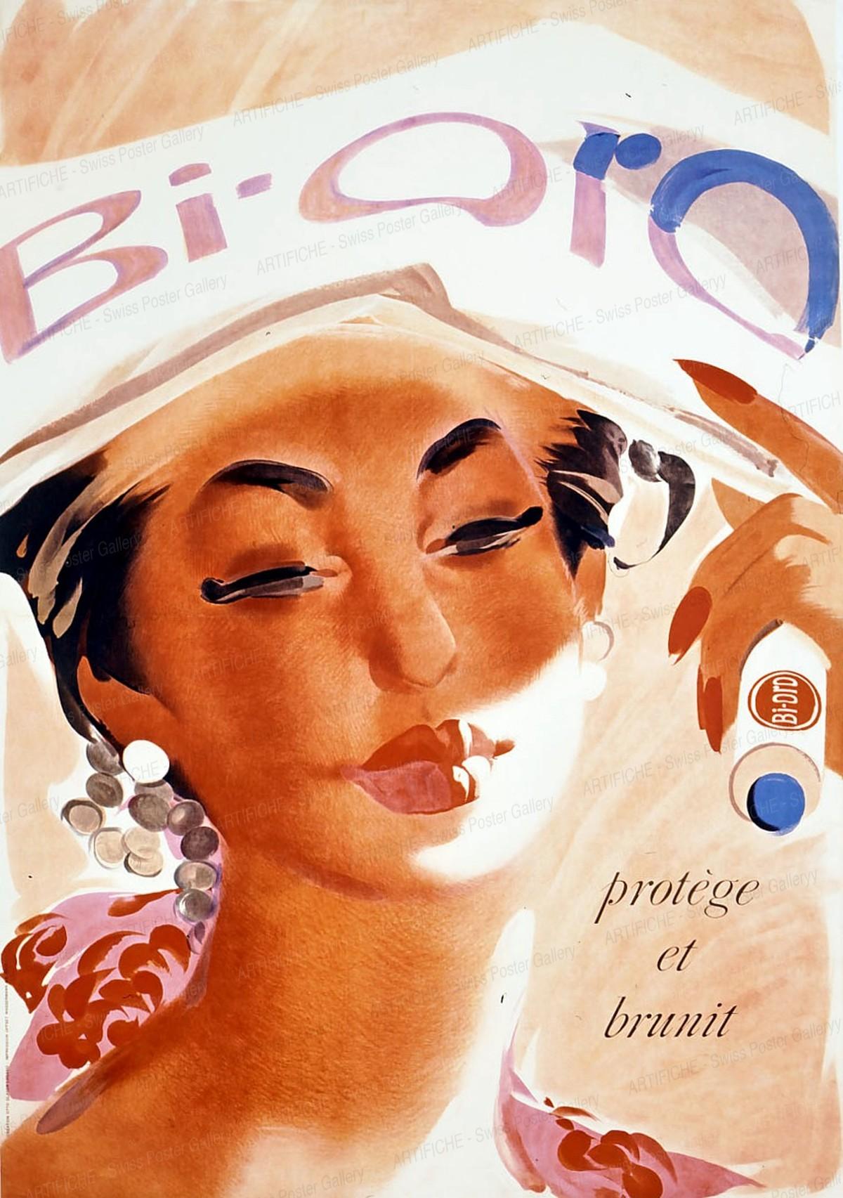 Bi-Oro – protège et brunit, Otto Glaser