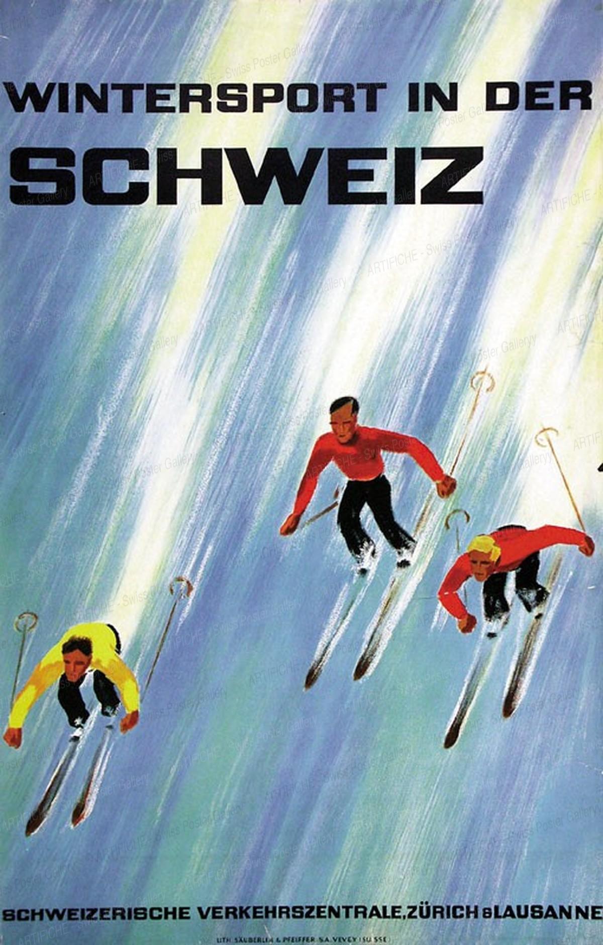 Wintersport in der Schweiz, Alex Walter Diggelmann