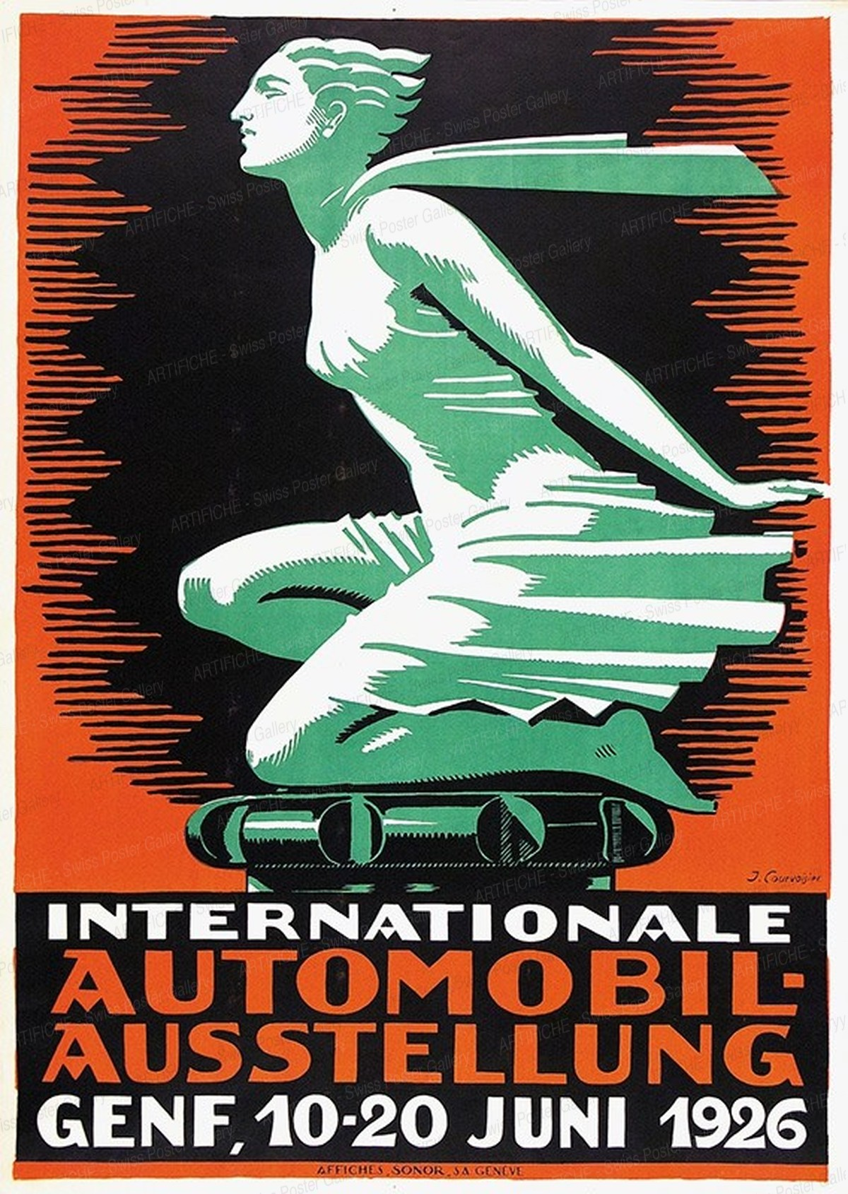 Internationale Automobil-Ausstellung Genf, 10.-20. Juni 1926, Jules-Ami Courvoisier
