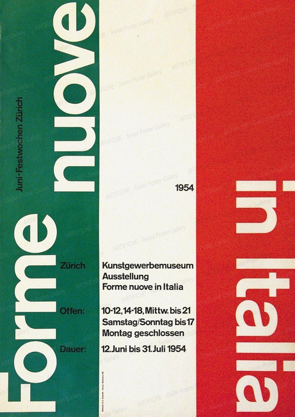 Kunstgewerbemuseum – Forme nuove in Italia, Carlo Vivarelli