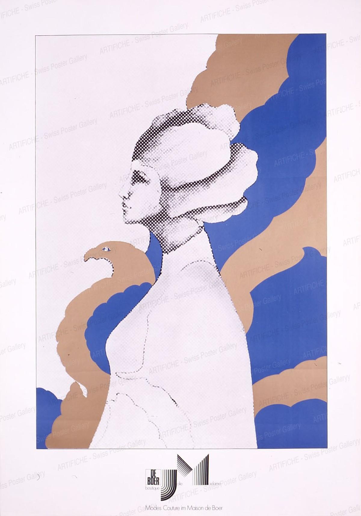 Modes Couture im Maison de Boer, Artist unknown