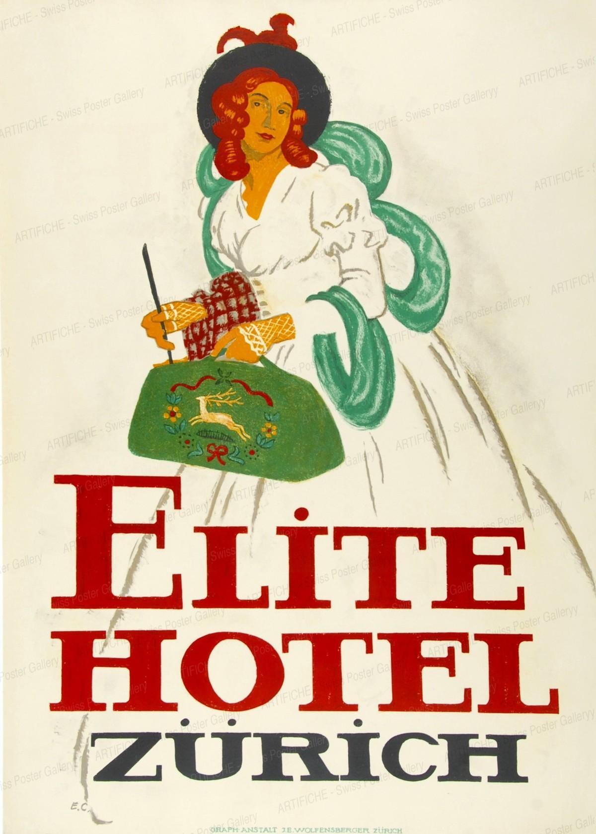 ELITE HOTEL ZURICH, Emil Cardinaux