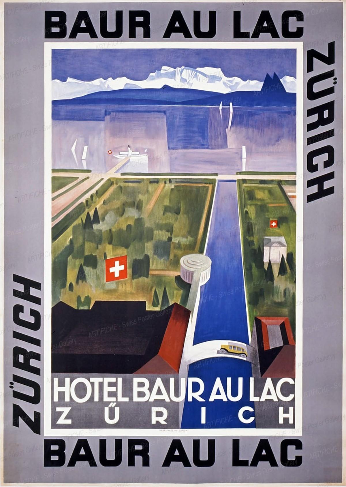 Hotel Baur au Lac Zürich, Artist unknown