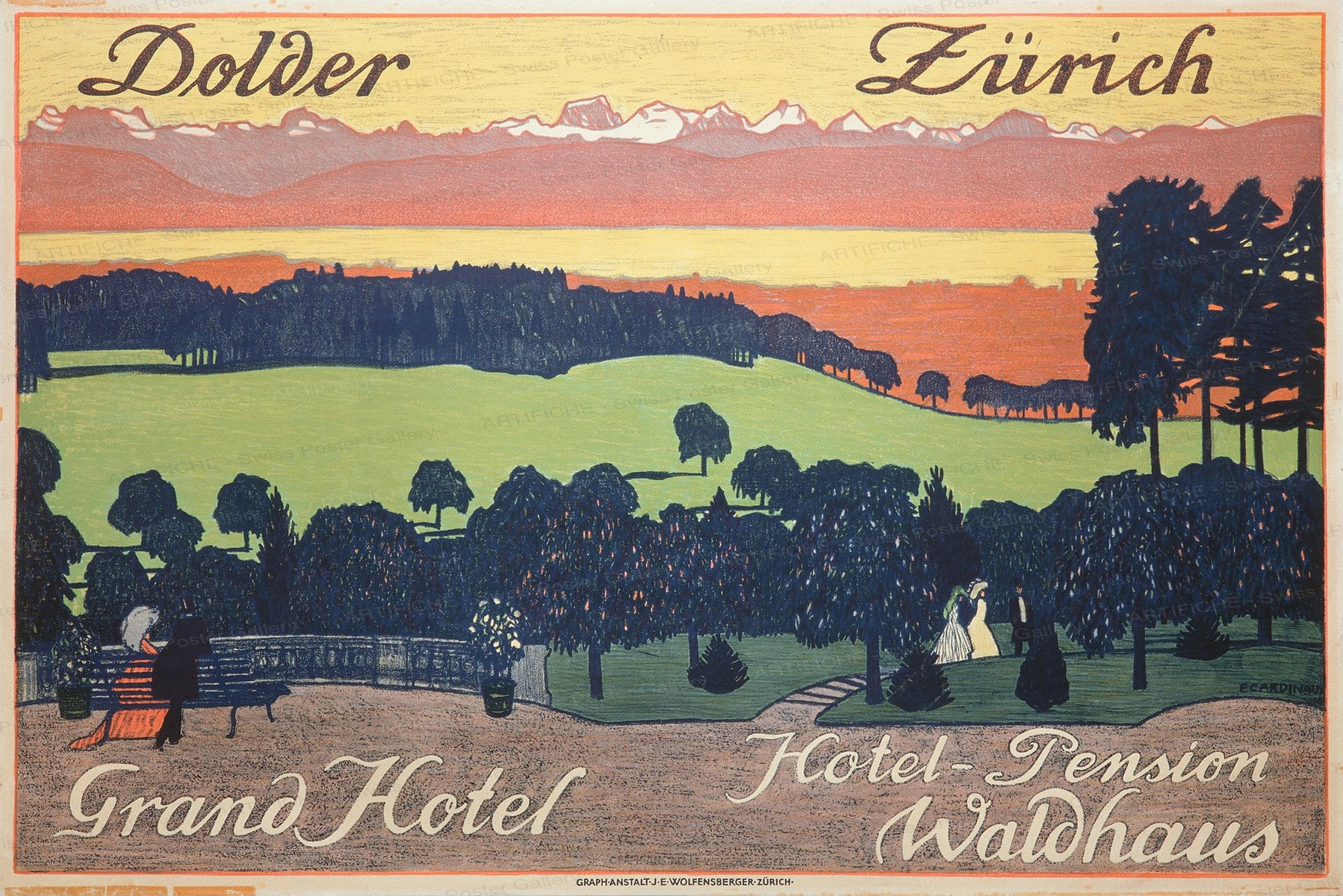 The Grand Hotel Dolder, Emil Cardinaux