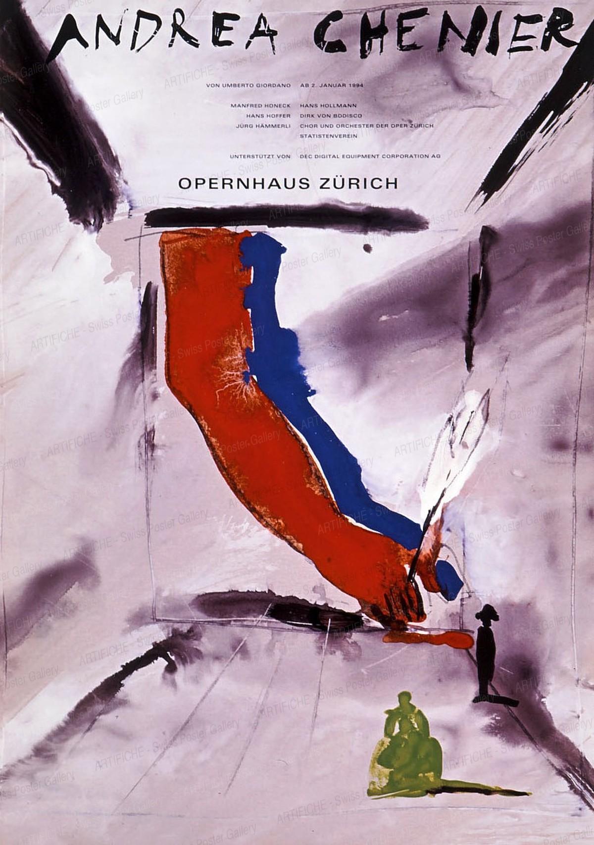 Opernhaus Zürich – Andrea Chenier, K. Domenic Geissbühler