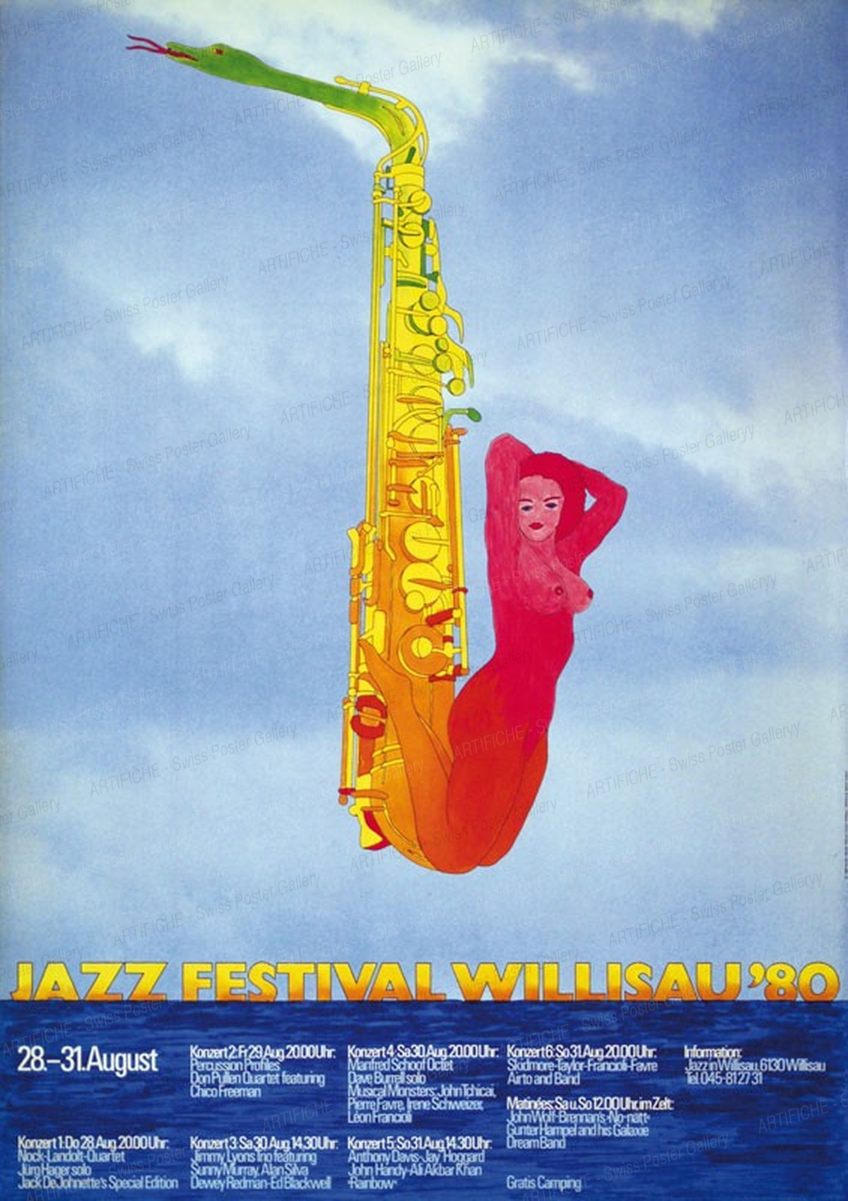 Jazz Festival Willisau '80, Niklaus Troxler