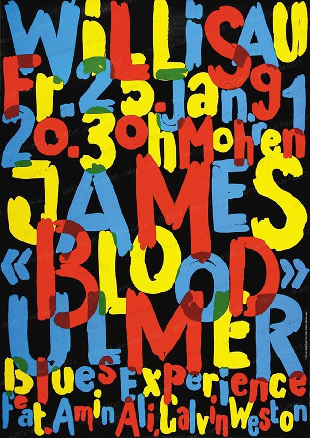 """Jazz Willisau – James """"Blood"""" Ulmer, Niklaus Troxler"""
