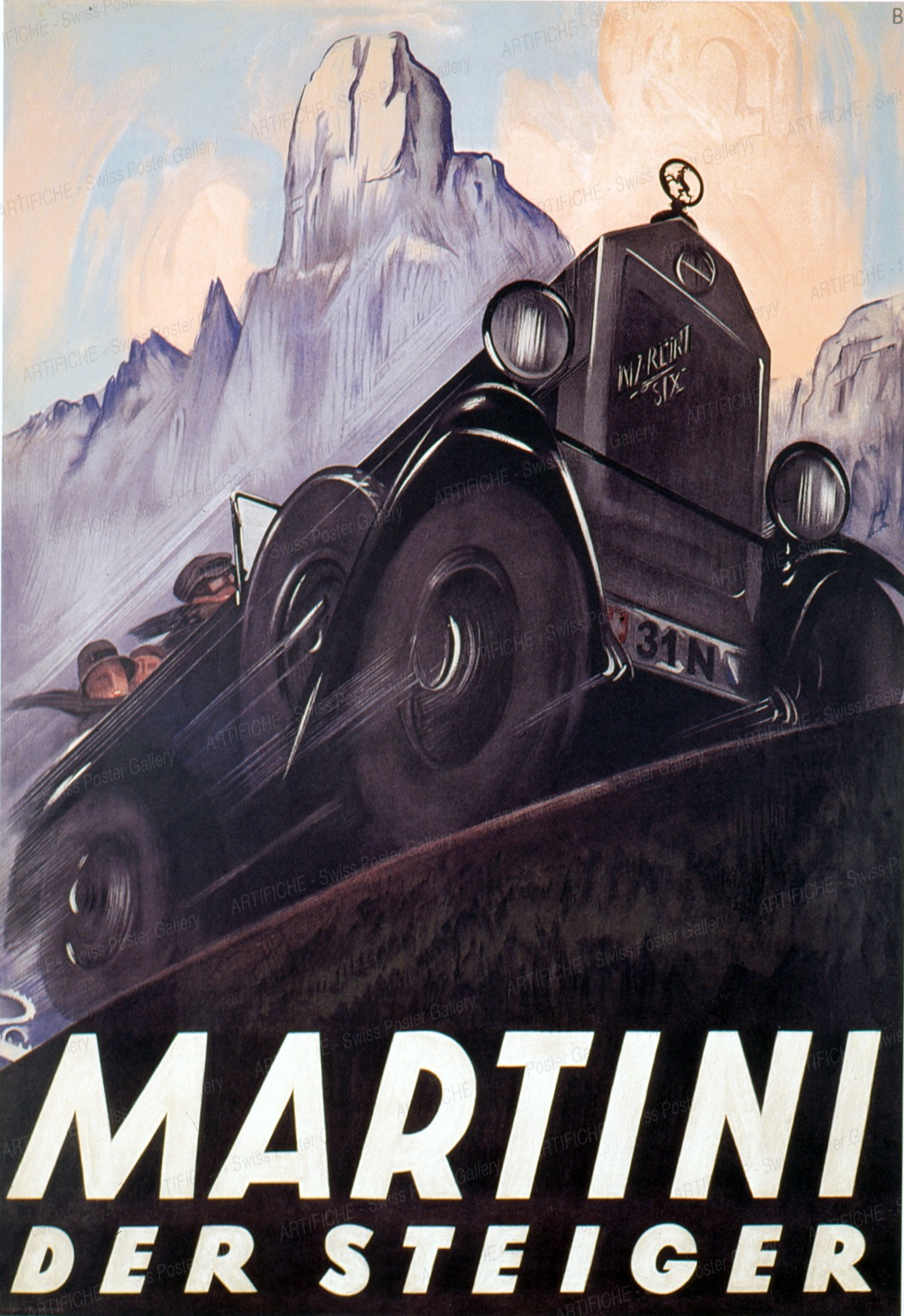 Martini Automobile, Otto Baumberger