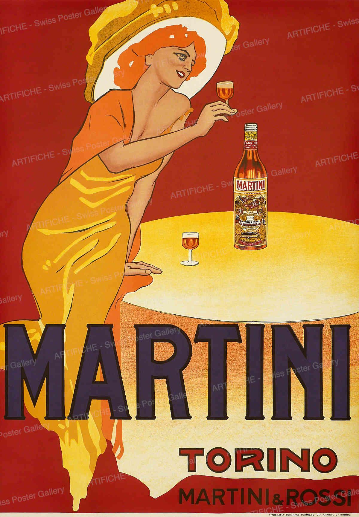 MARTINI – Martini & Rossi Torino, Marcello Dudovich