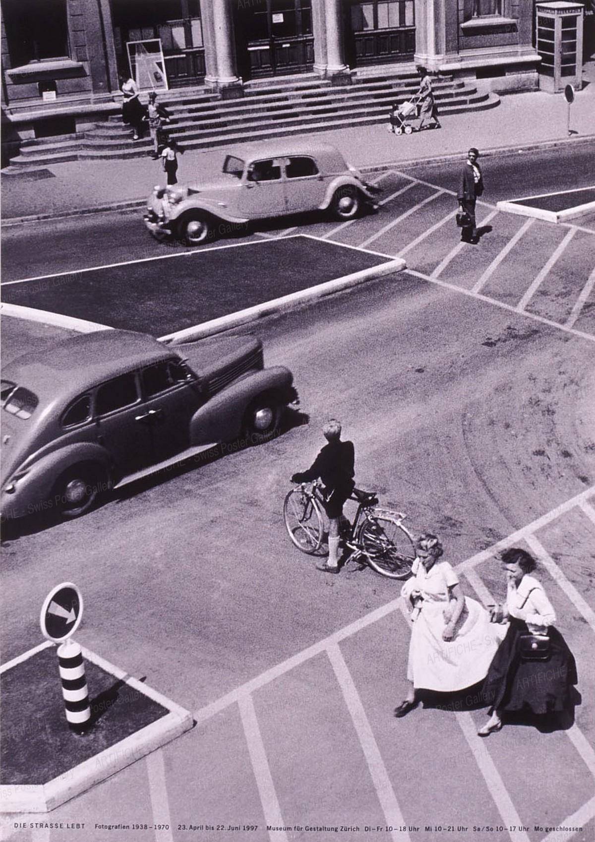 Museum für Gestaltung Zürich – Die Strasse lebt – Fotografien 1938-1970, Robert & Durrer