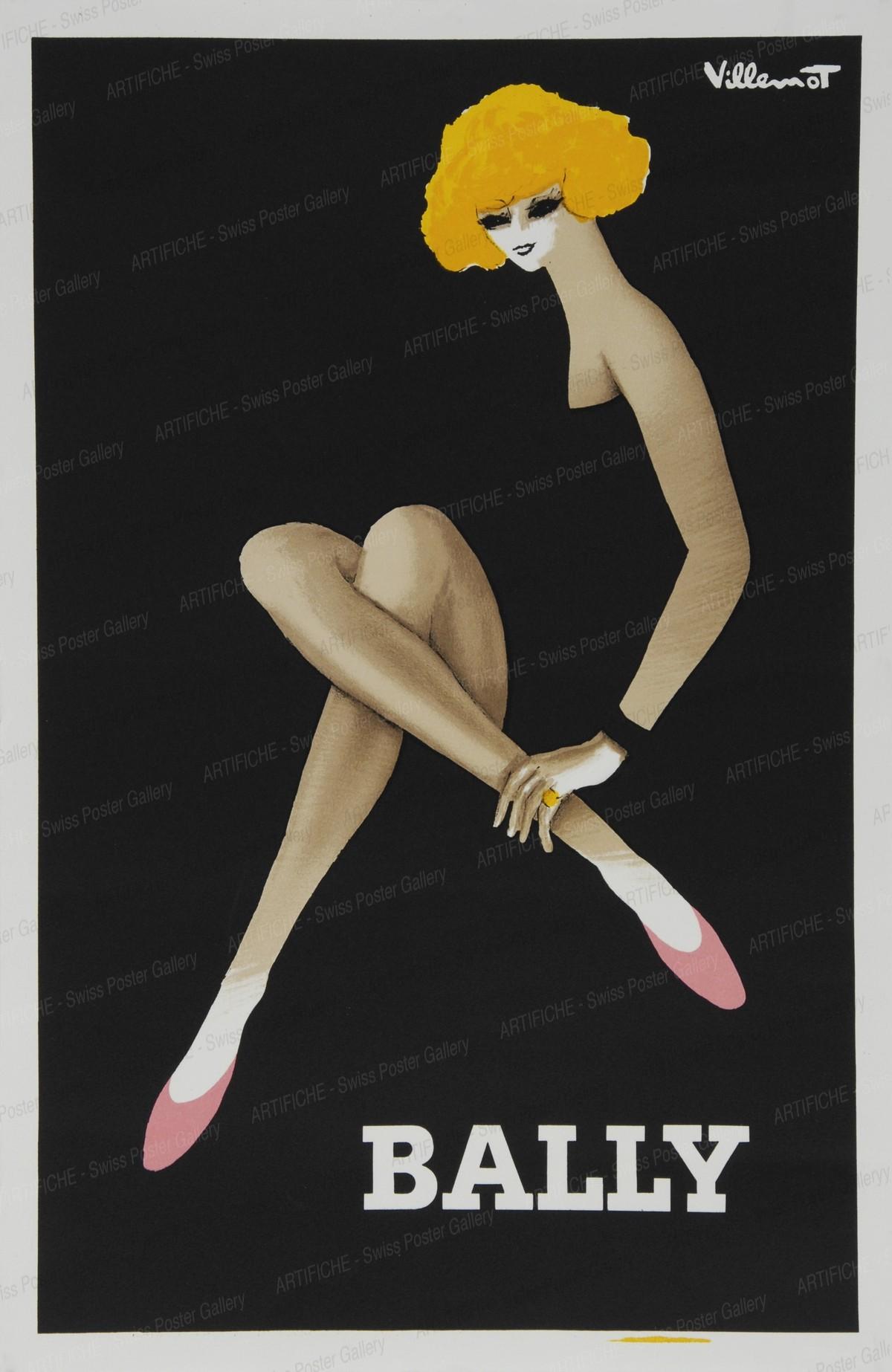 Bally Shoes, Bernard Villemot