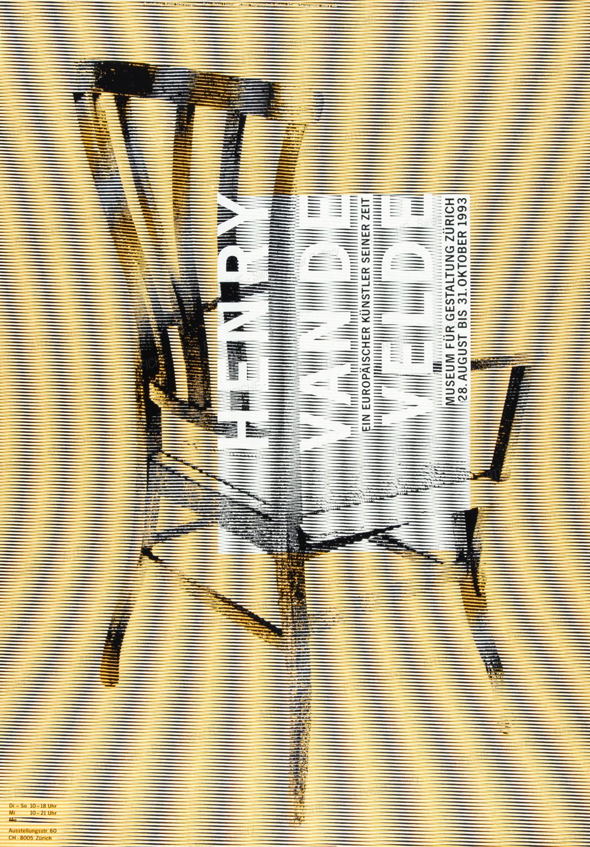 Zurich Museum of Design – Henry Van de Velde, Ralph Schraivogel