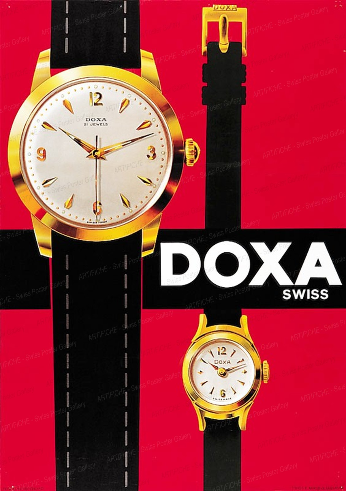 Doxa Watches, Artist unknown
