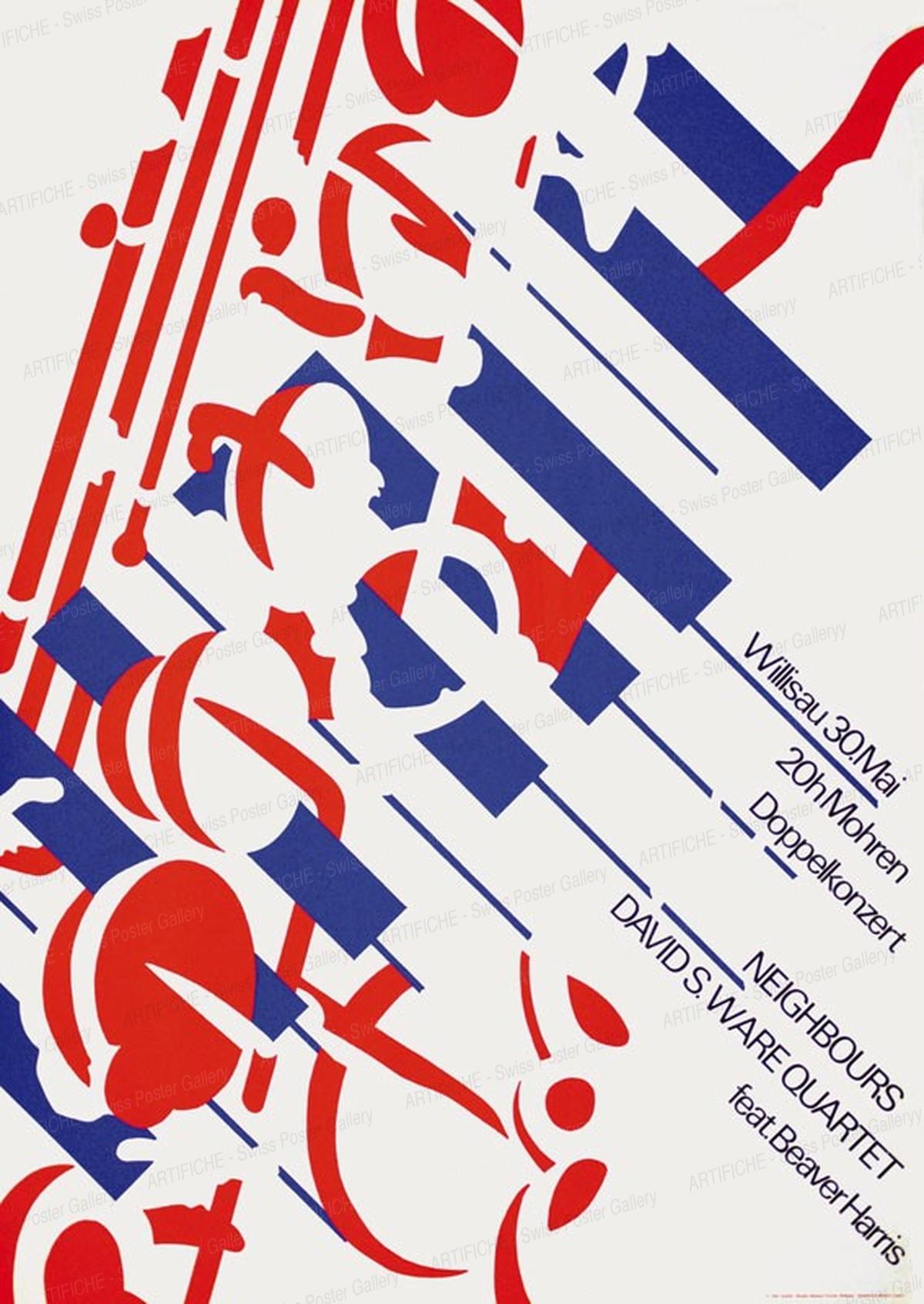 Jazz Willisau – Neighbours – David S. Ware Quartet, Niklaus Troxler