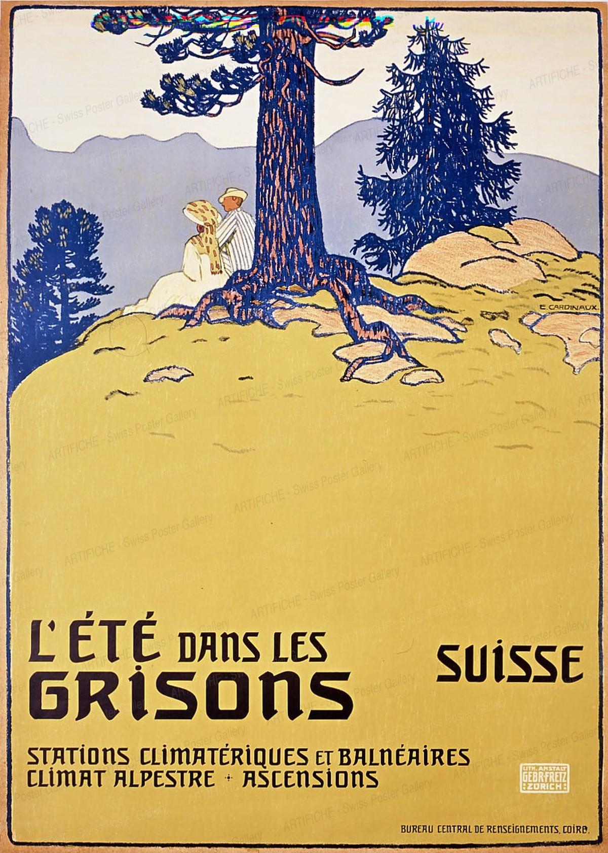 L'ÉTÉ DANS LES GRISONS – SUISSE, Emil Cardinaux
