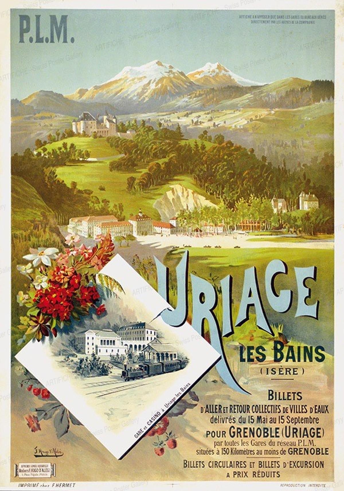 P.L.M. – URIAGE LES BAINS (Isère), Hugo F. D'Alési