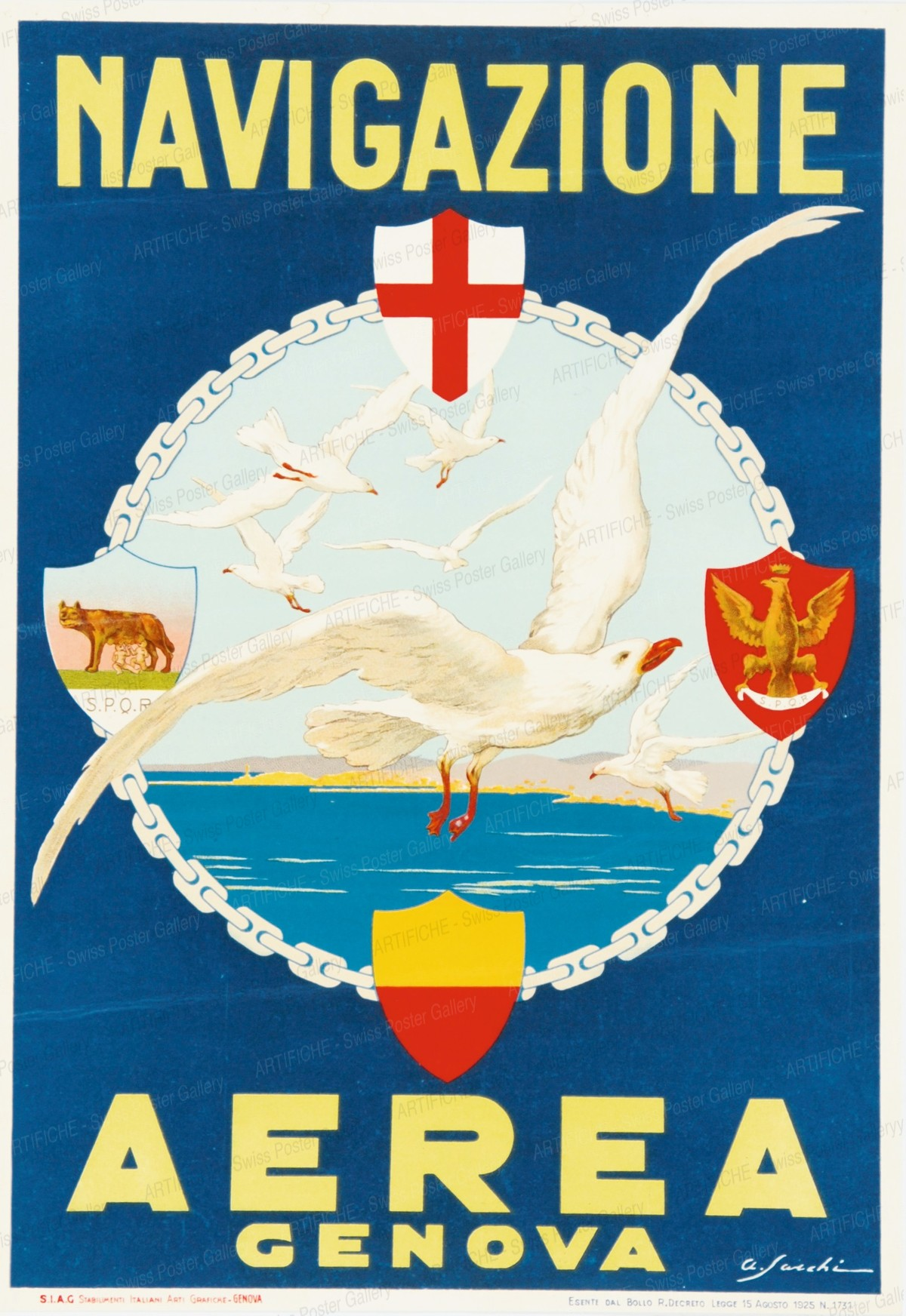Aerea Genova, A. Saachi