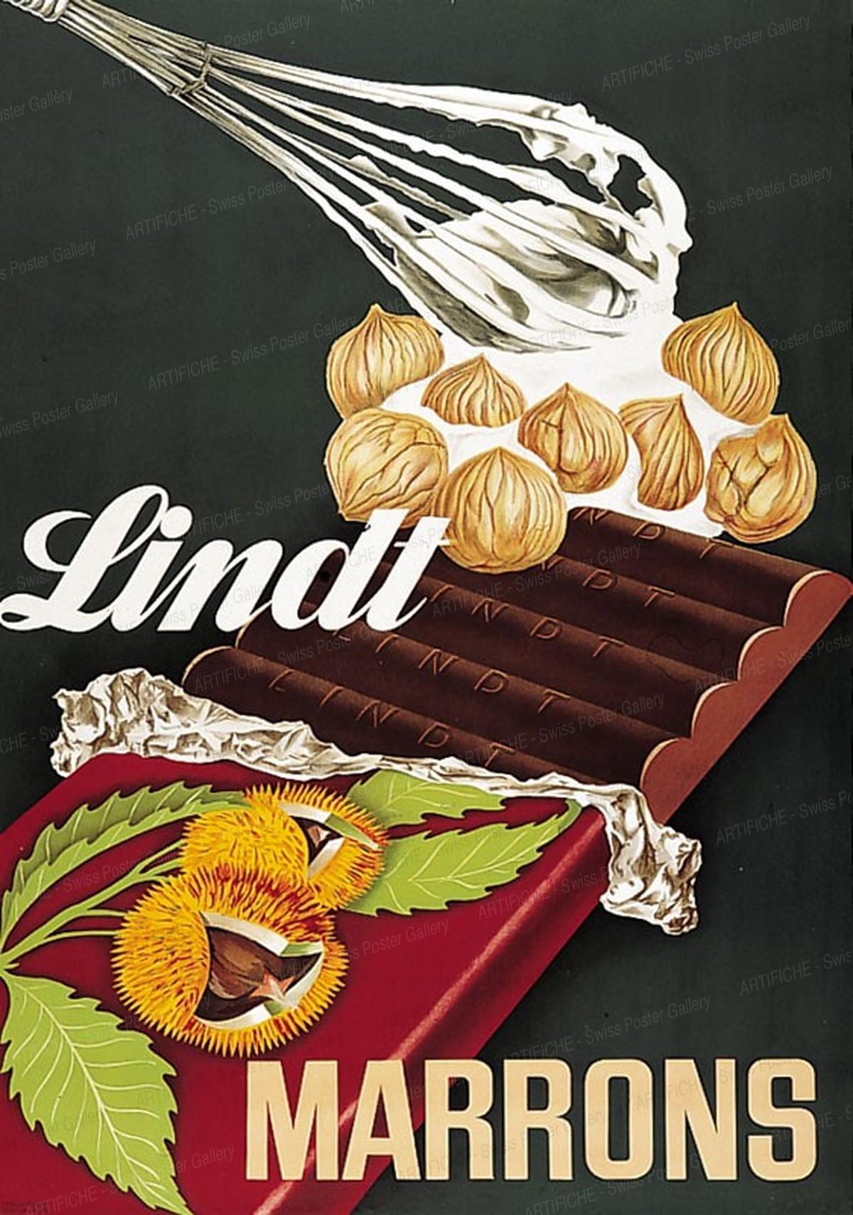 Lindt Schokolade – Marrons, Althaus, Paul O., Atelier