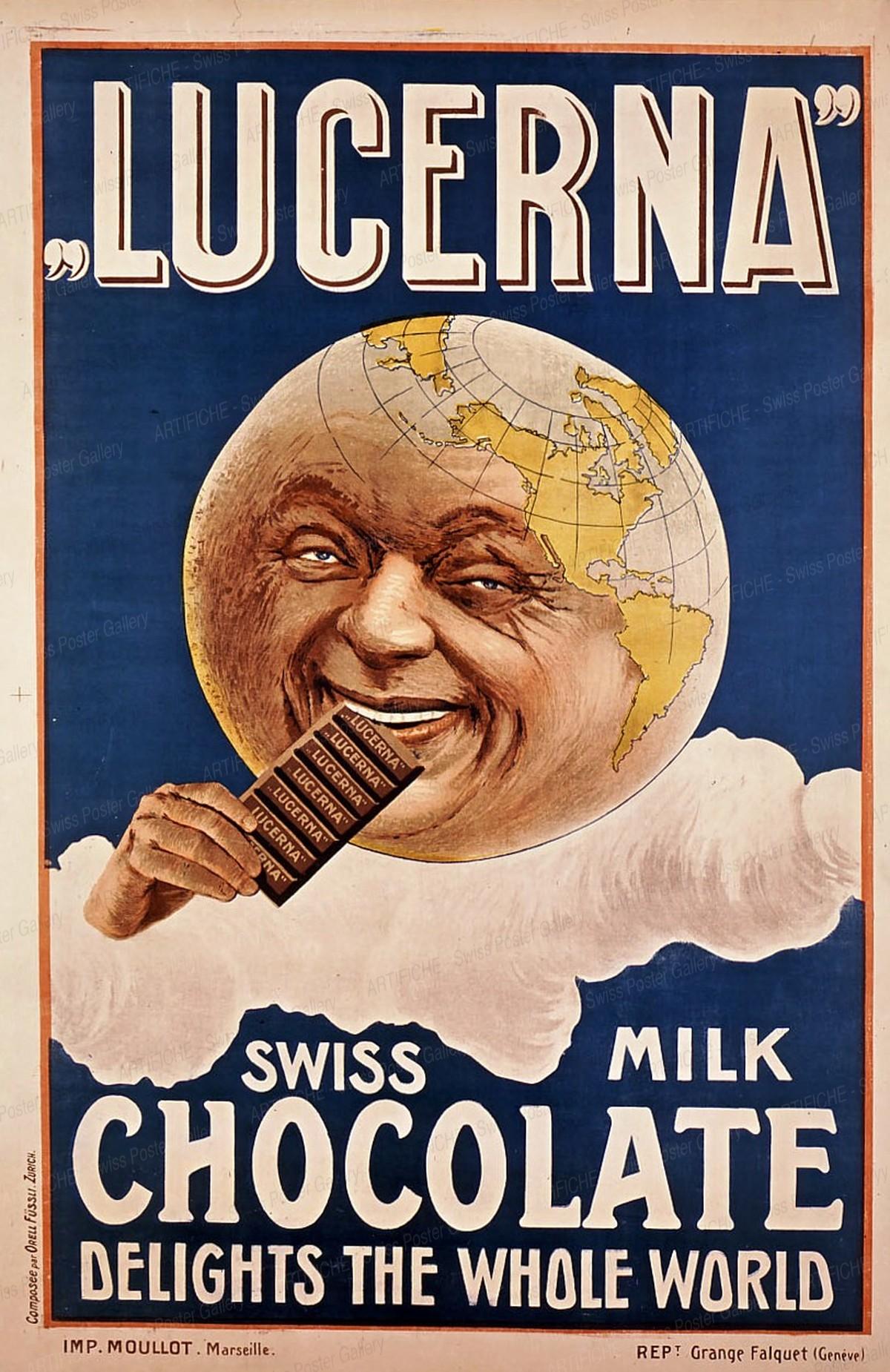 Lucerna – Swiss Milk Chocolate Delights the Whole World, Grange-Falquet