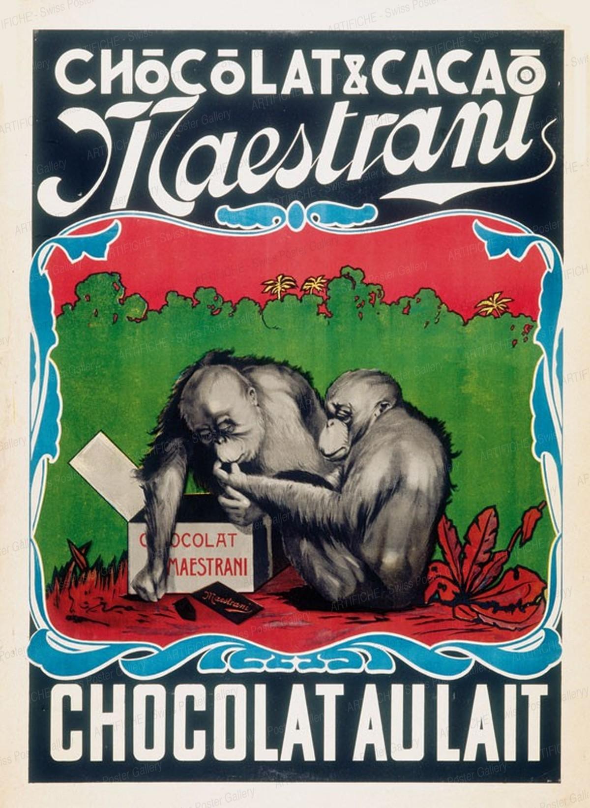 Maestrani – Chocolat & Cacao, Artist unknown