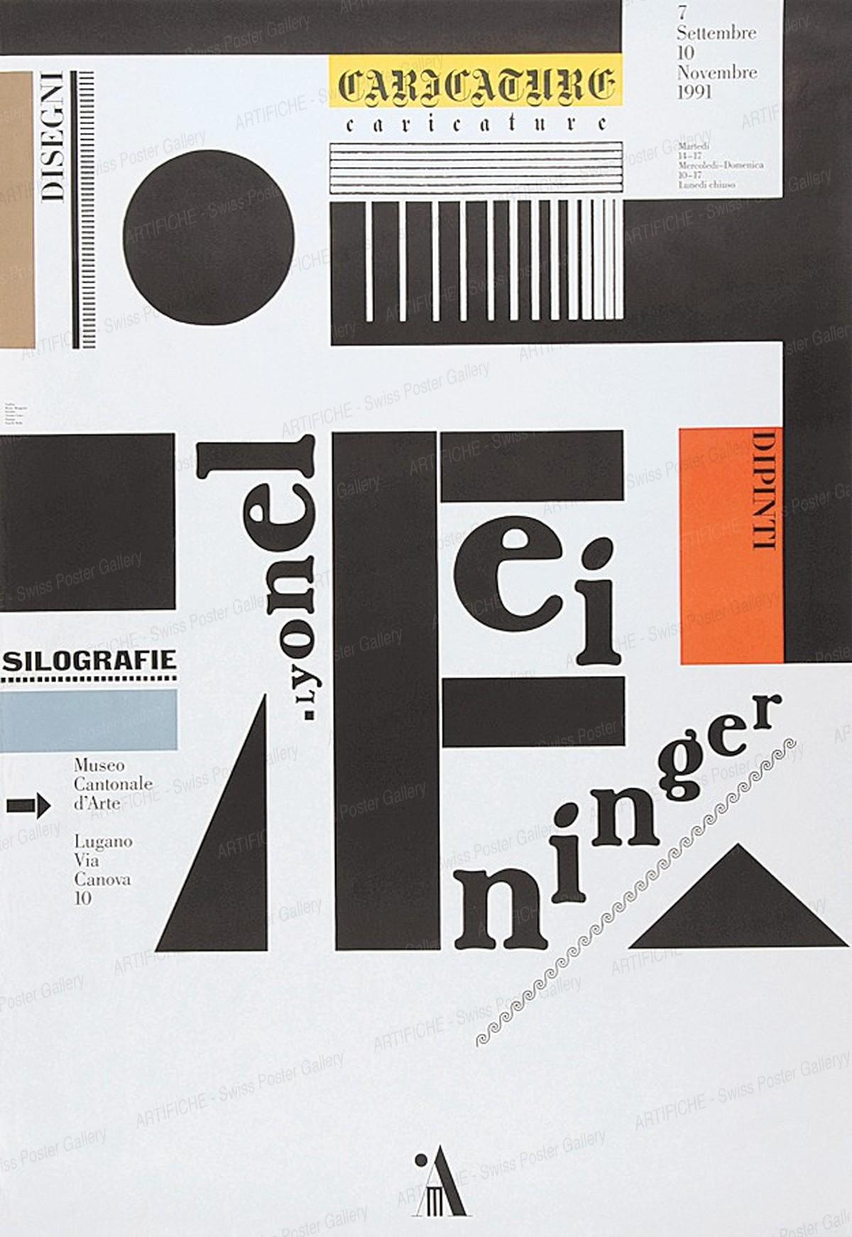 Museo Cantonale d'Arte Lugano – Lyonel Feininger, Bruno Monguzzi