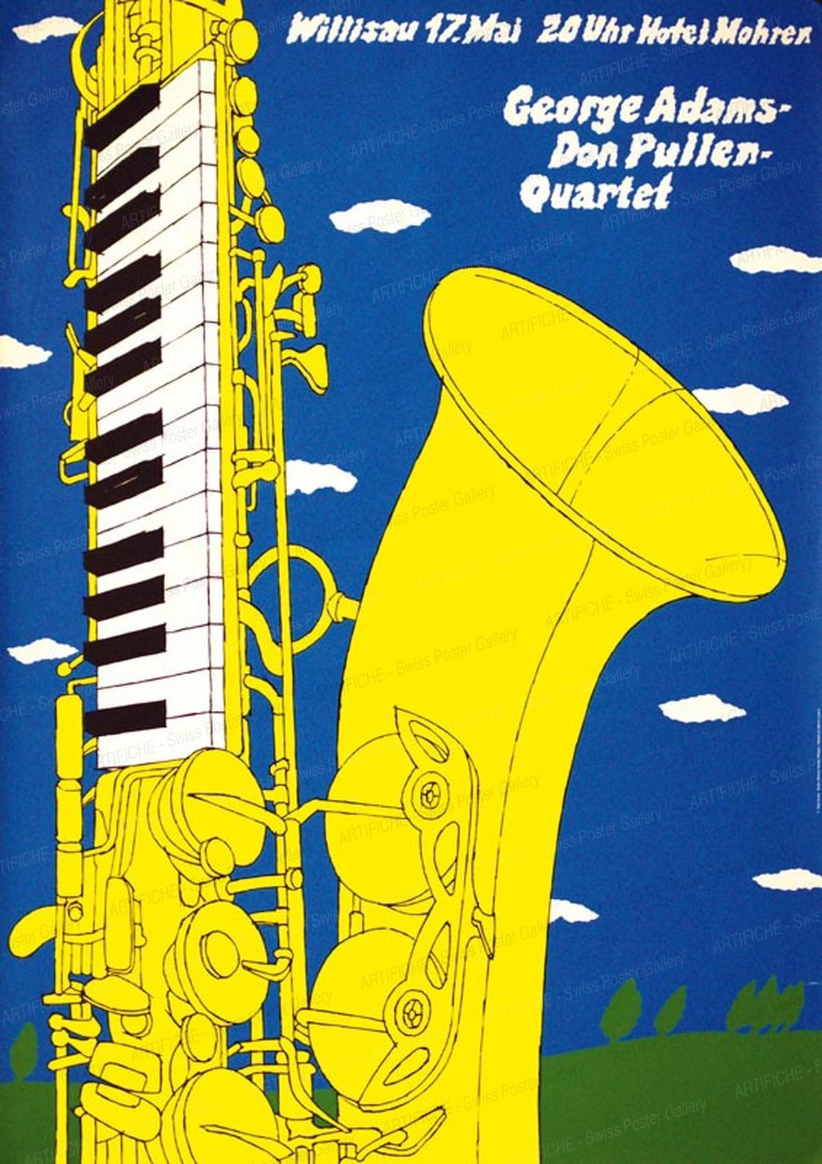 Jazz Willisau – George Adams – Don Pullen – Quartet, Niklaus Troxler