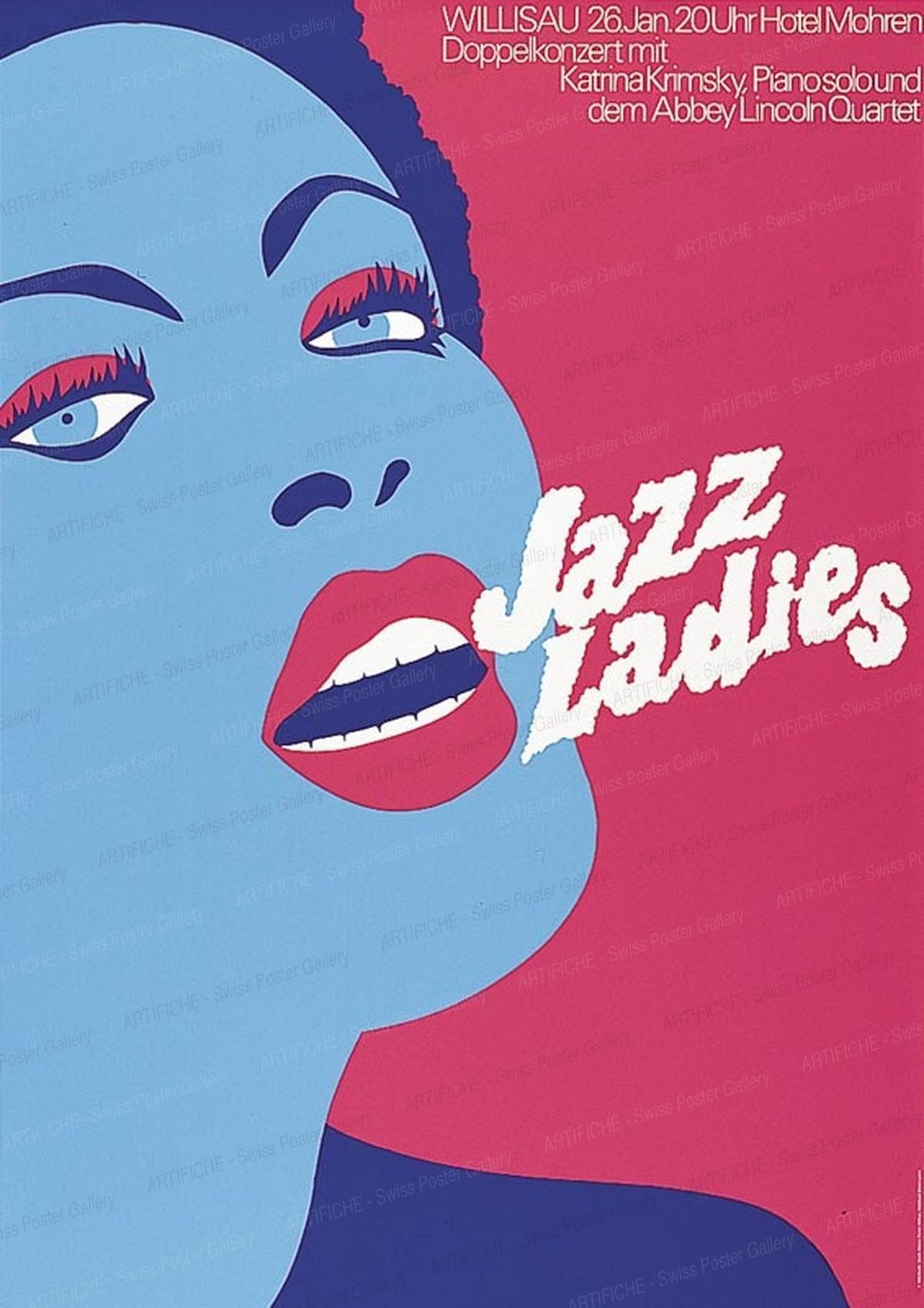 Jazz Willisau – Jazz Ladies, Niklaus Troxler