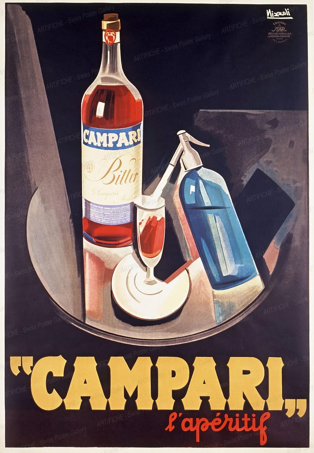Campari – L'apéritif, Marcello Nizzoli