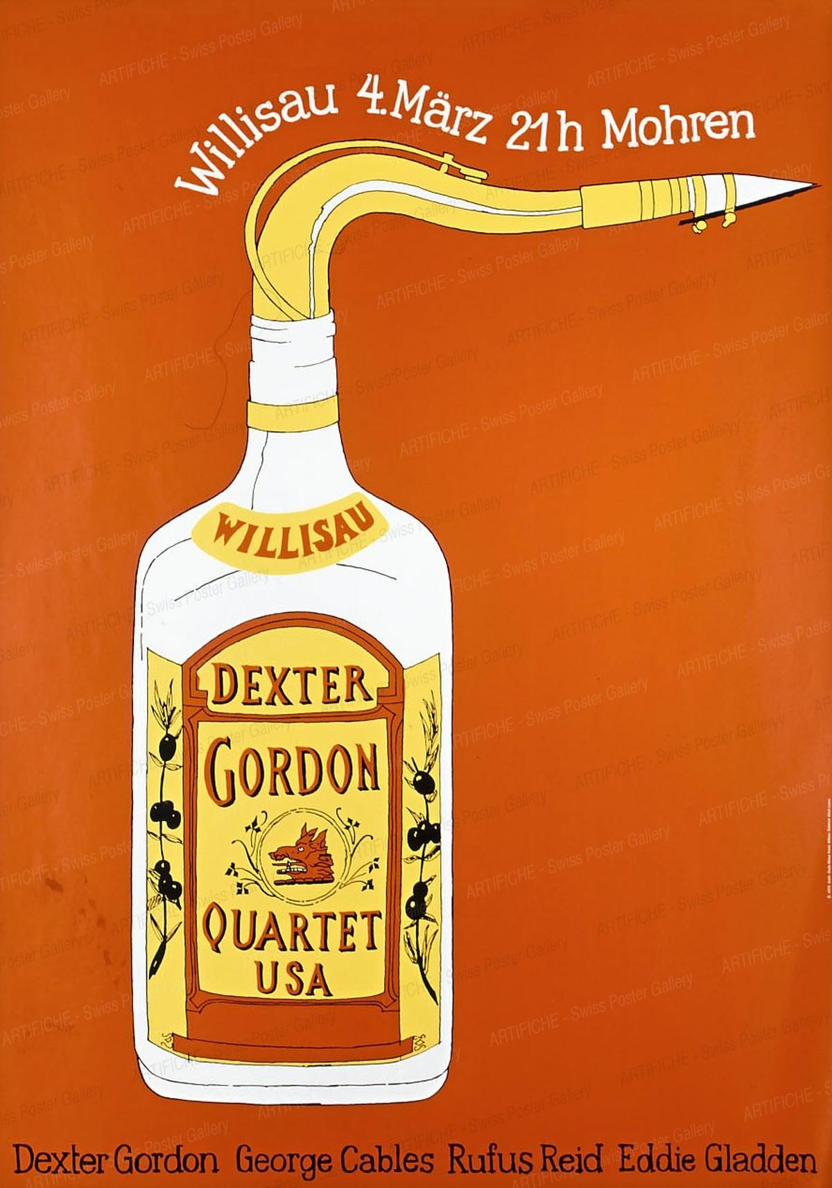 Jazz Willisau – Dexter Gordon, Niklaus Troxler