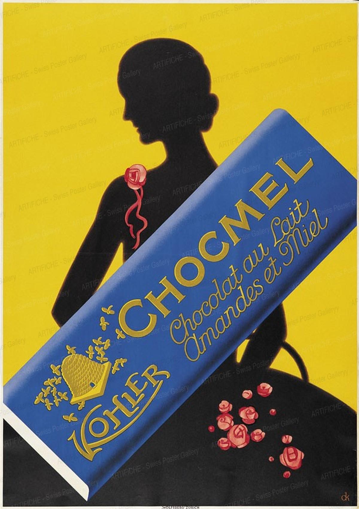 Chocmel – Kohler – Chocolat au Lait – Amandes et Miel, Charles Kuhn
