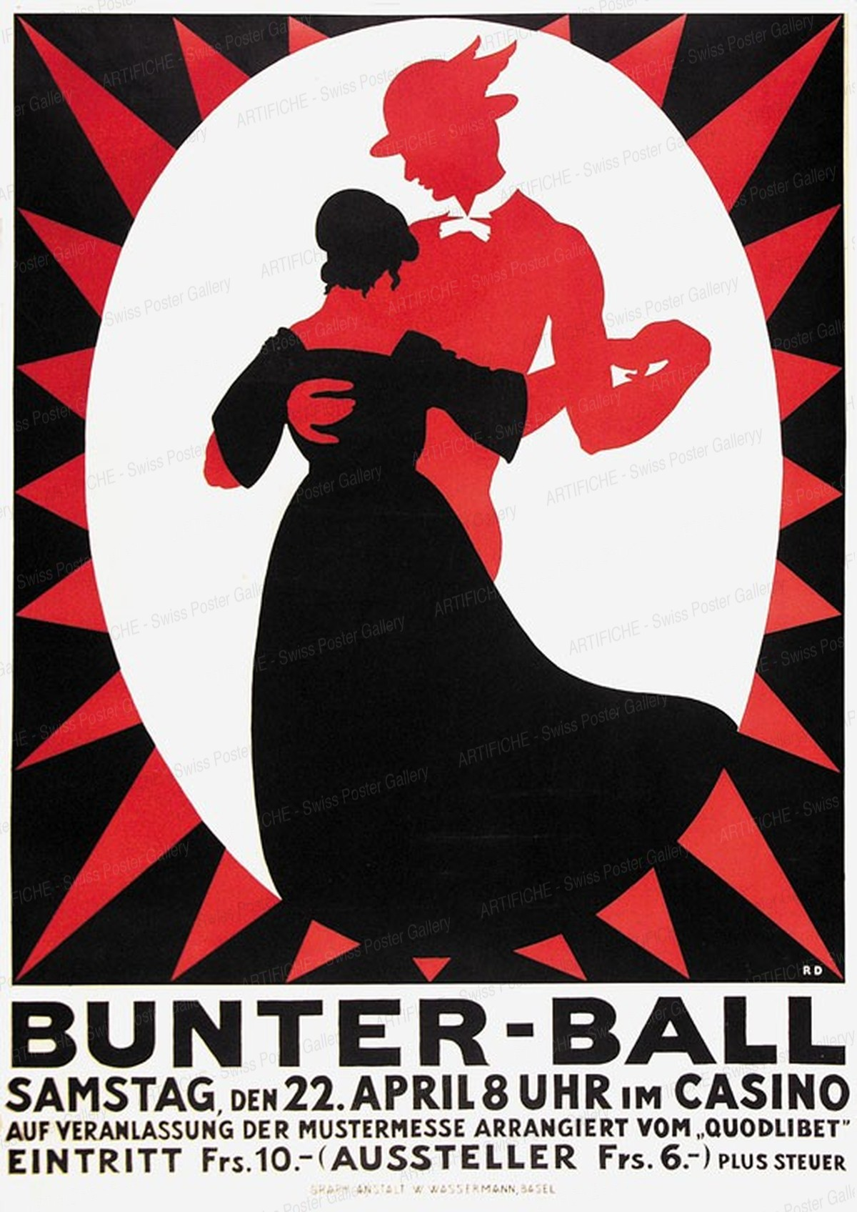 BUNTER BALL – CASINO, Rudolf Dürrwang