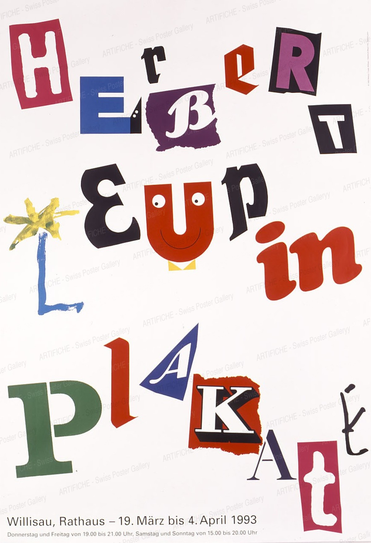 Herbert Leupin – Plakate, Niklaus Troxler