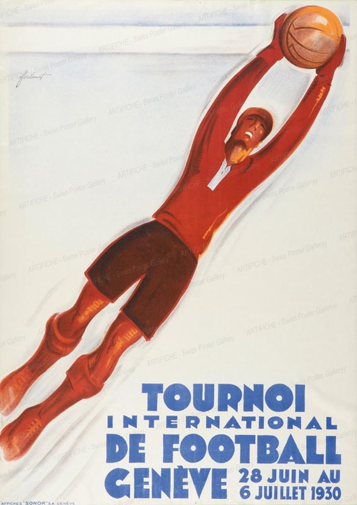 International football tournament, Noël Fontanet