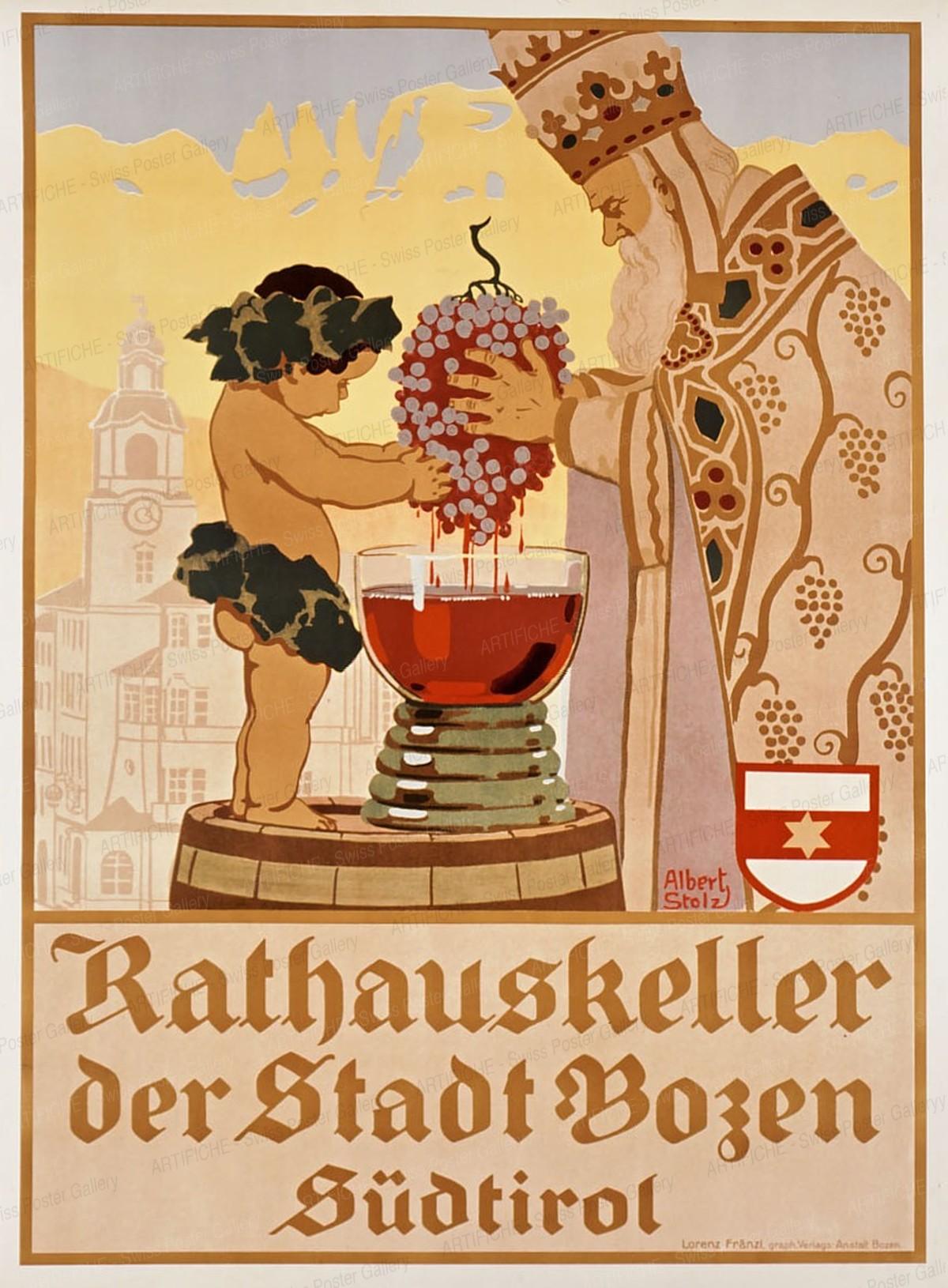 Rathauskeller der Stadt Bozen – Südtirol, Albert Stolz
