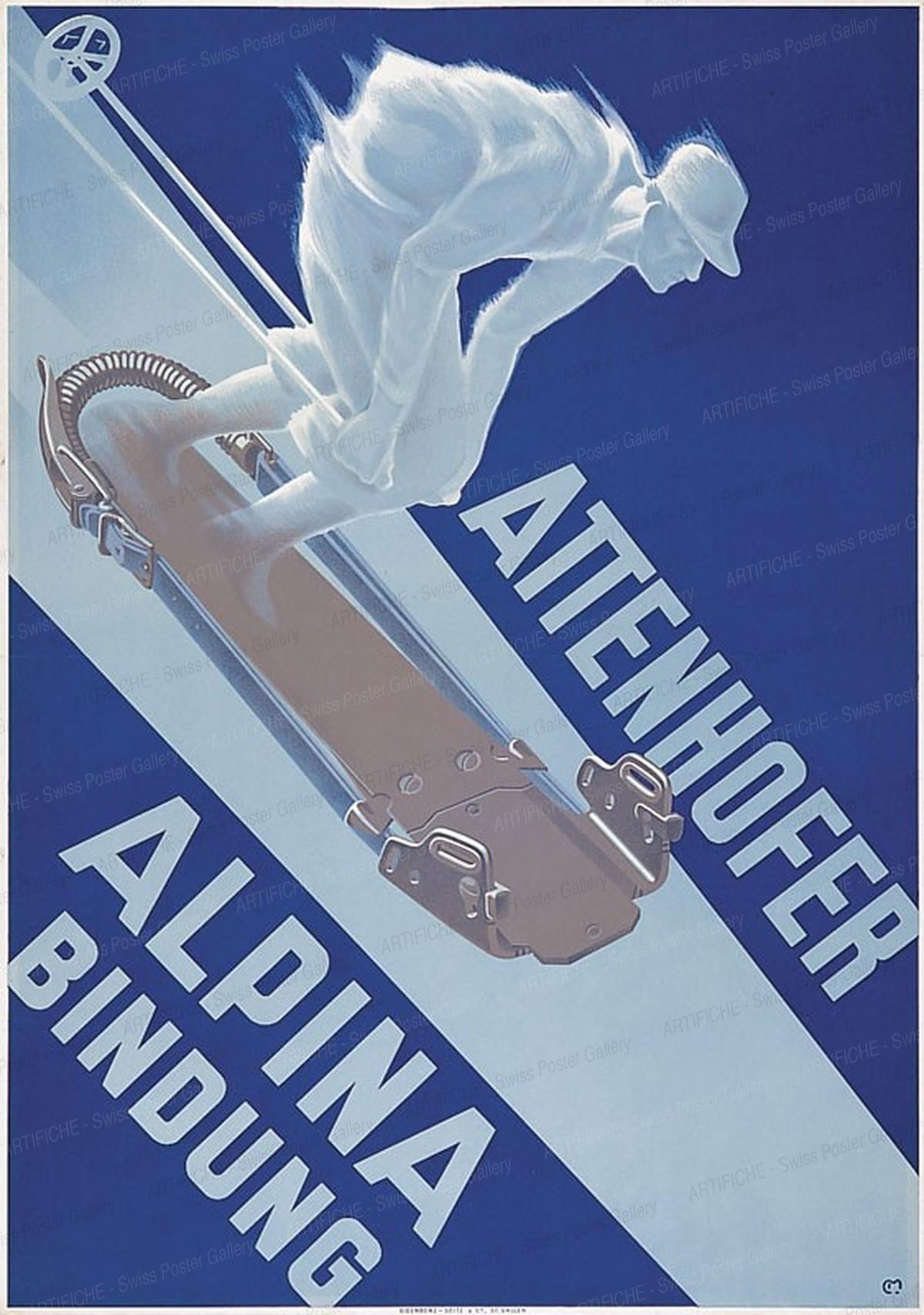 ATTENHOFER – ALPINA-BINDUNG, Carl Franz Moos