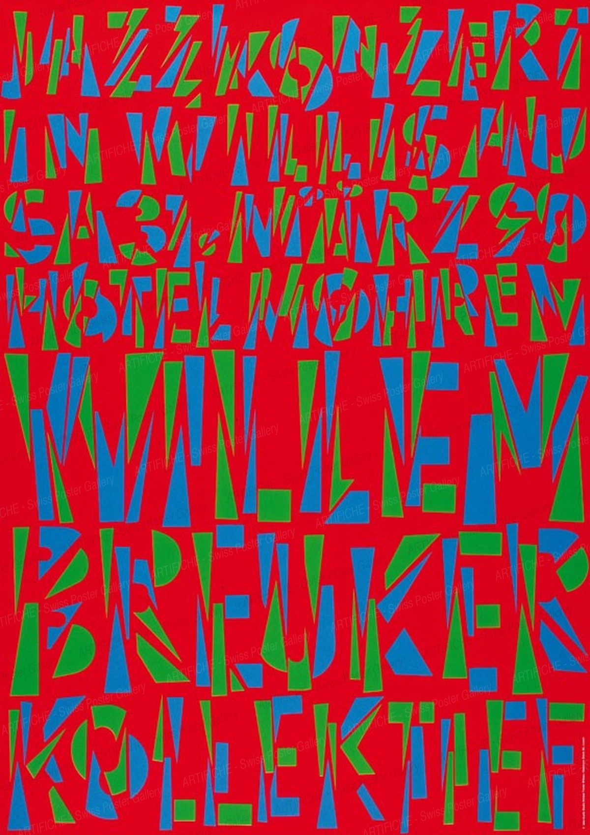 Jazz Willisau – Willem Breuker Kollektief, Niklaus Troxler