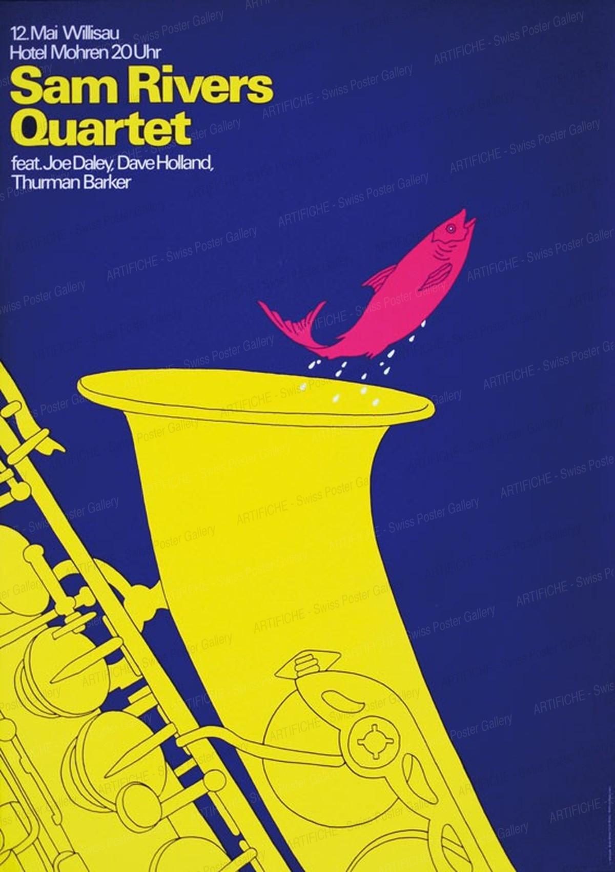 Jazz Willisau – Sam Rivers Quartet, Niklaus Troxler