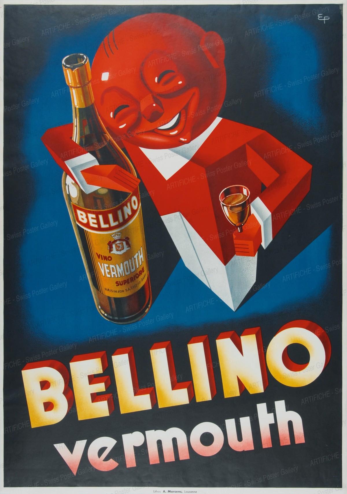 BELLINO Vermouth, E. Patké