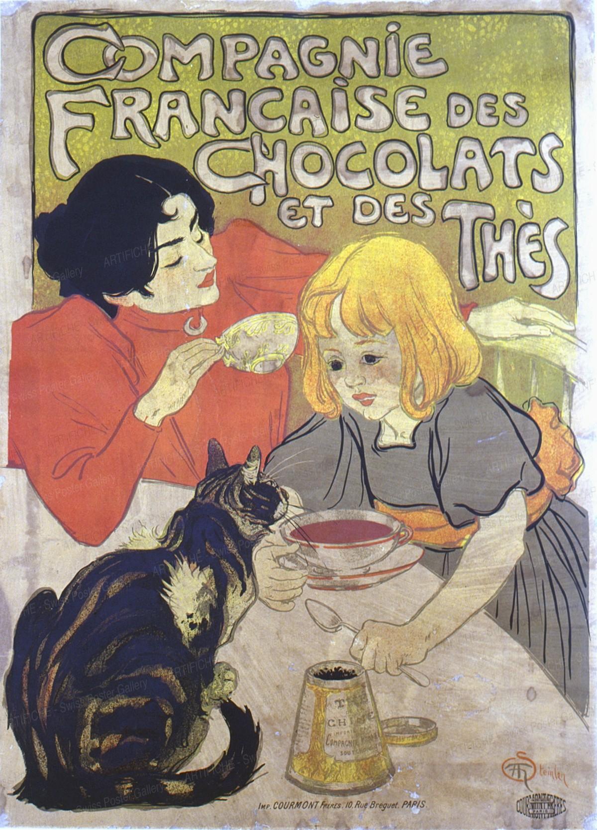 Compagnie Française des Chocolats et des Thés, Théophile Alexandre Steinlen