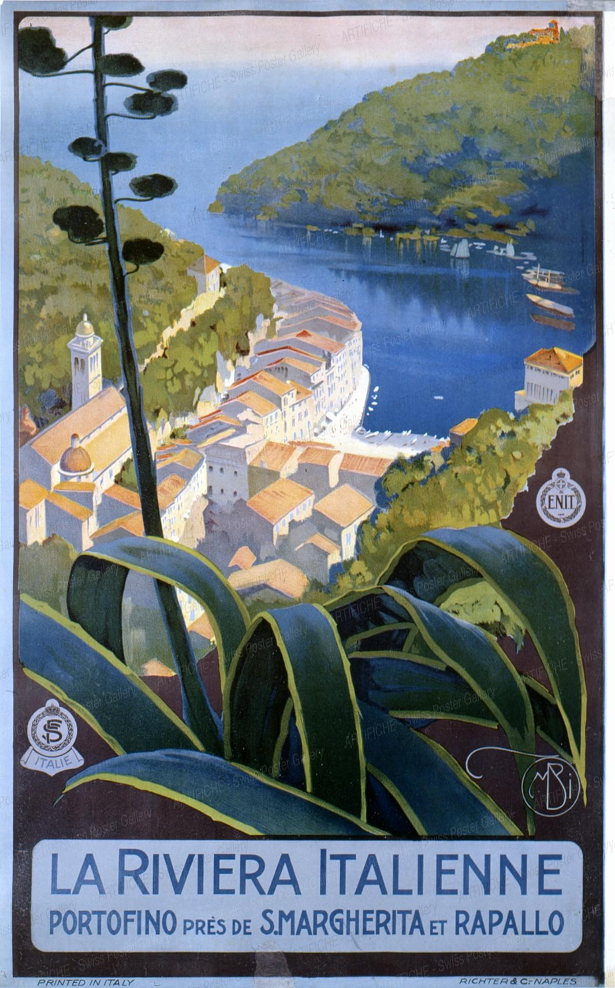 The Italian Riviera – Portofino, Mario Borgoni