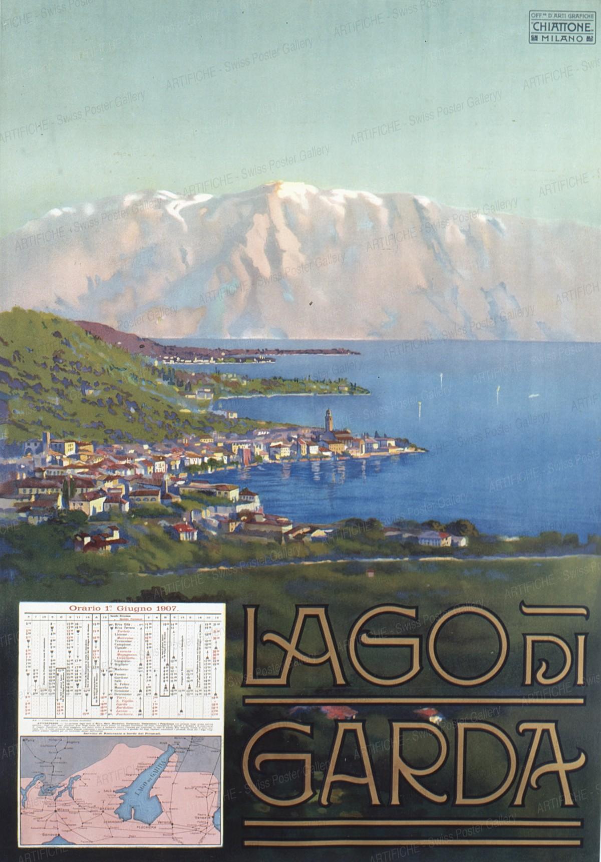 Lago di Garda, Artist unknown