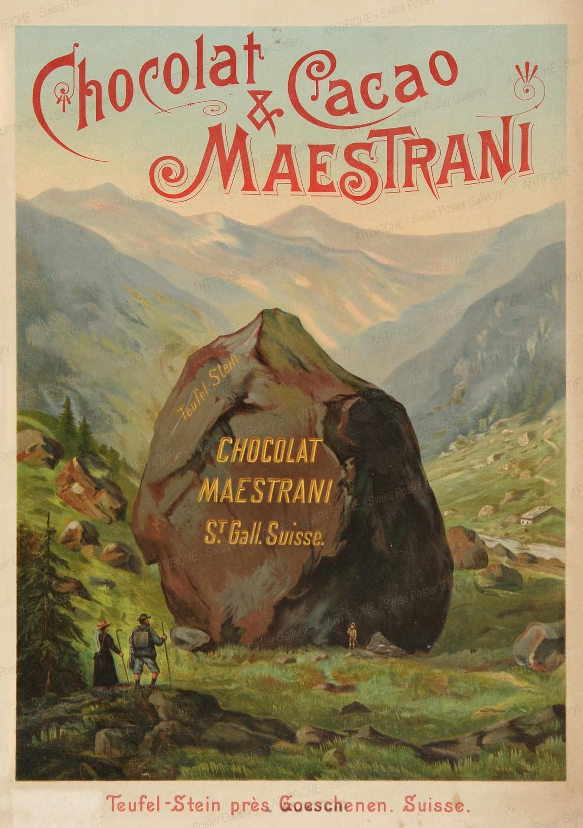 Swiss Chocolate Maestrani, Artist unknown