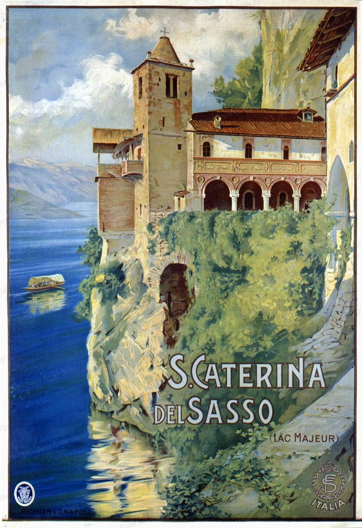 S. Caterina del Sasso – Lago Maggiore, Artist unknown