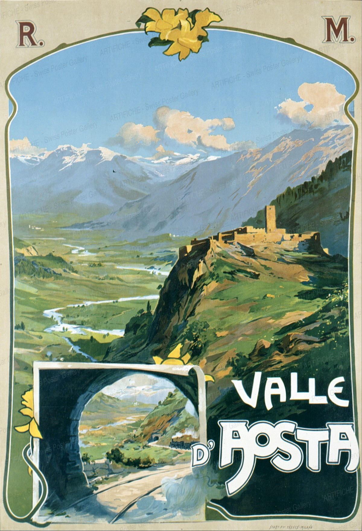 VALLE D'AOSTA, Artist unknown