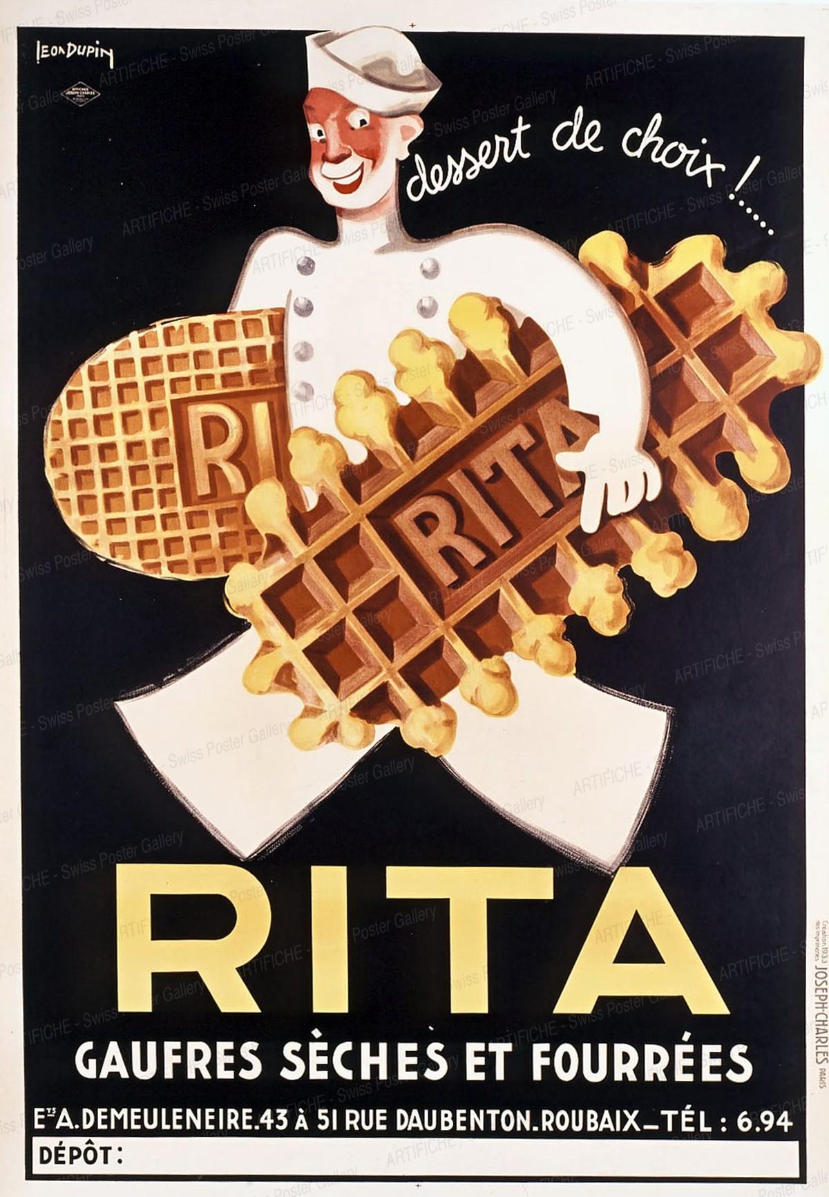 RITA – dessert de choix !, Leo Dupin