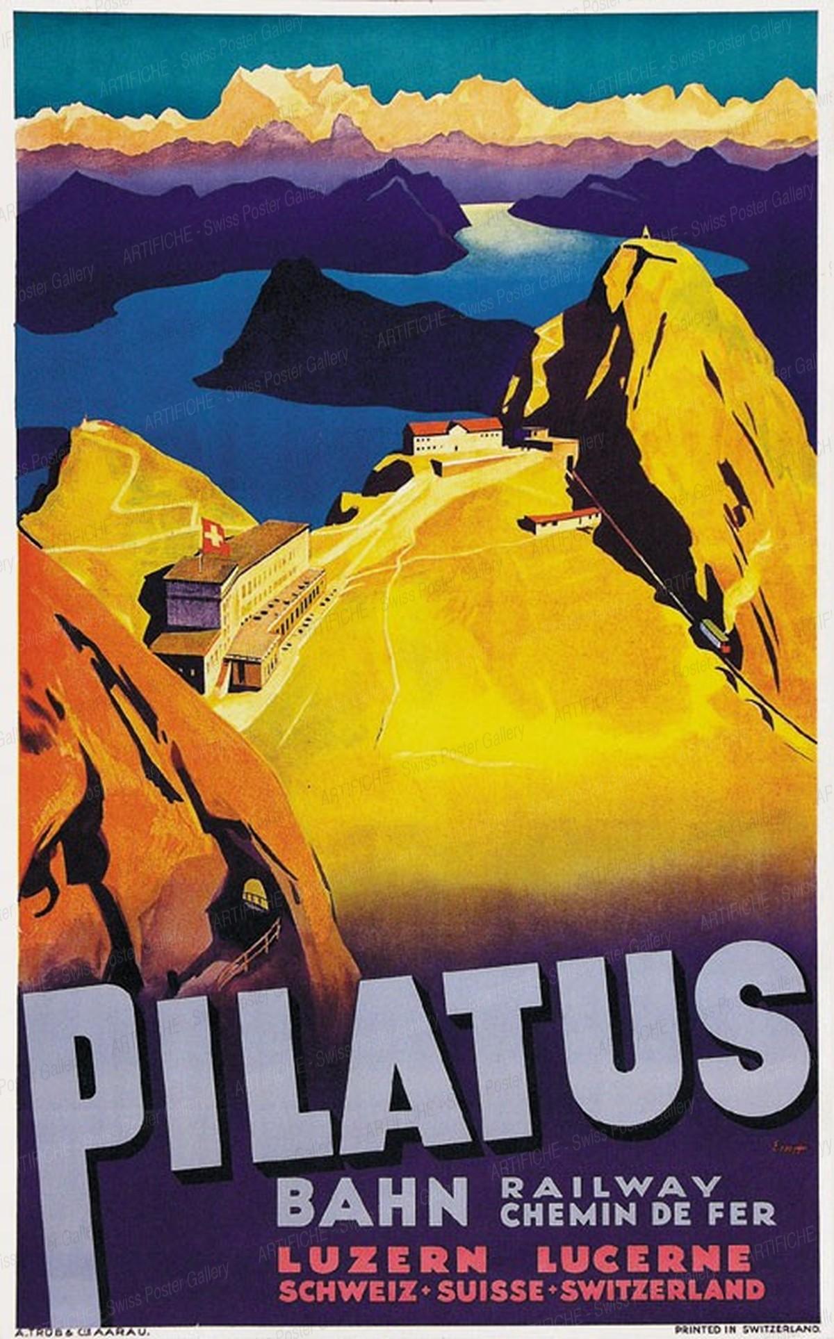 Pilatus Cable car, Otto Ernst