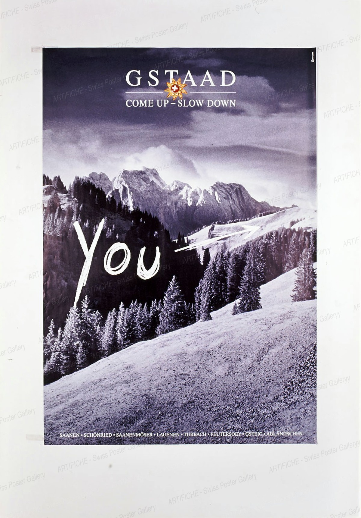 GSTAAD – YOU – come up – slow down, Contexta